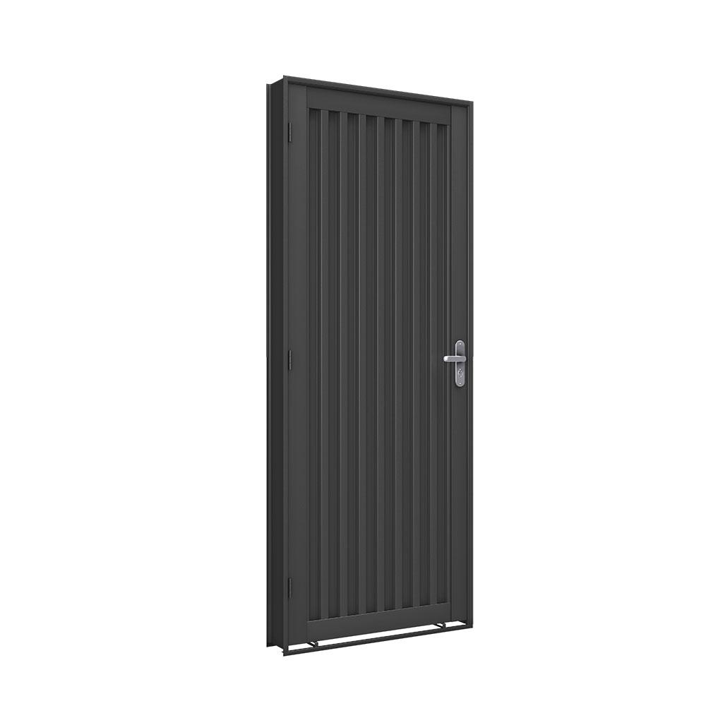 Porta Trapézio - Machado – Portas e Janelas de Aço e Alumínio