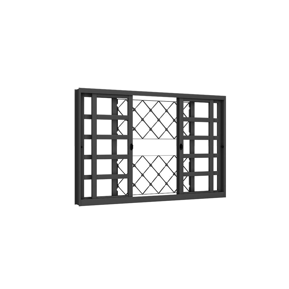 Vitrô de Correr Horizontal - Machado – Portas e Janelas de Aço e Alumínio