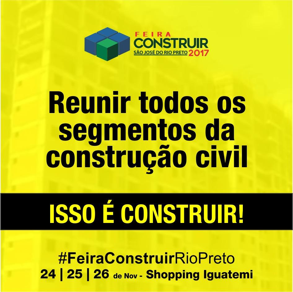 CONSTRUIR – Rio Preto 2017 - Machado – Portas e Janelas de Aço e Alumínio